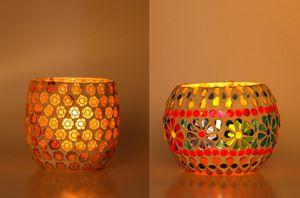 Afast Hand Decorative Tea Light/ Candle Holder -OO59