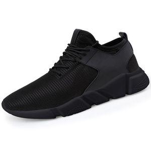 Men's Stylish Black Casual Shoes - 425b-black