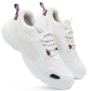 Afrojack Stylish Sneaker Shoes-m240-White