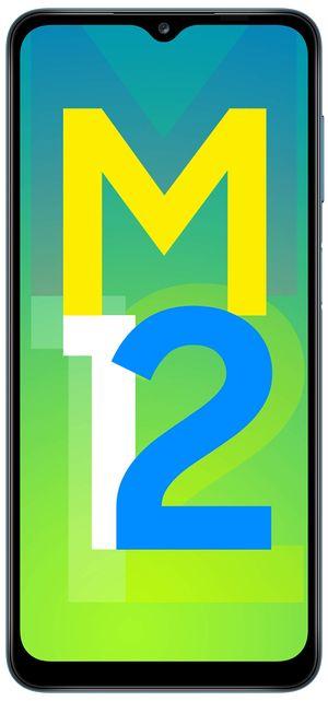 Samsung Galaxy M12 (Blue:4GB RAM: 64GB Storage) 6000 mAh with 8nm Processor   True 48 MP Quad Camera   90Hz Refresh Rate