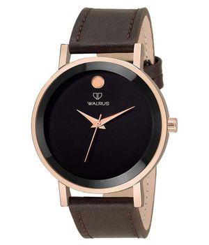 WALRUS Leather Analog Men's Watch