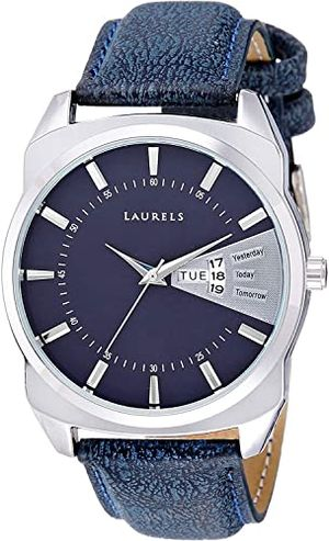Walrus Analog Classy Blue Dial Men's Watch