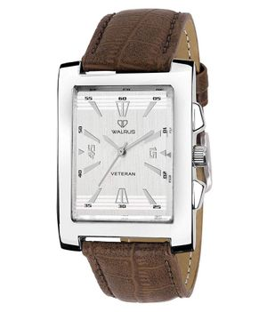 WALRUS Brown Color Round Dial Watch
