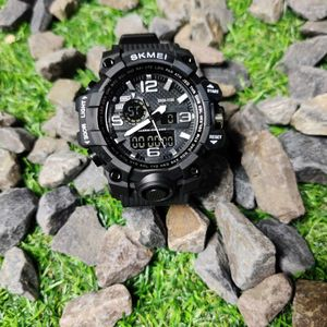Skmei Analog-Digital Chronograph Function Men's Watch - 1155