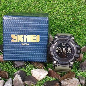 Skmei Green Color 1384 Digital Watch for Men