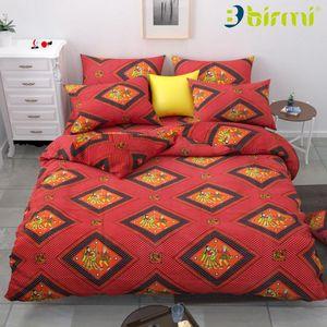 Vinay Handloom Traditional Dandiya Printed Bombay Cotton Double Bedsheet with 2 Pillow Cover