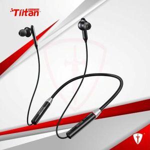 TIITAN Nitrogen Series N3 Wireless Neckband in-Ear Bluetooth 5.0 IPX5 Sweatproof Magnetic Headset, Lightweight Earphone with 8 Hours Playtime.